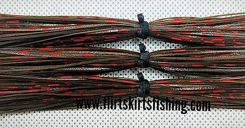 Flirt Skirts Replacement Skirts 3pk. Color: Green Pumpkin Red