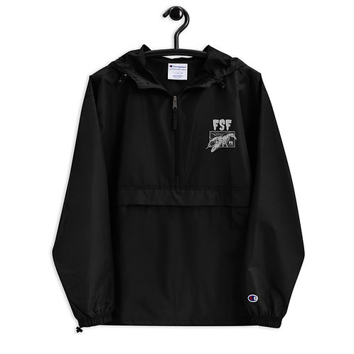 Embroidered FSF Champion Packable Jacket