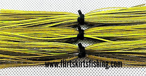 Flirt Skirts Replacement Skirts 3pk. Color: Mean Greene