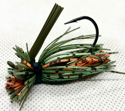 FSF 1/4oz. MICRO LION JIG. Color: NYC BASSKING