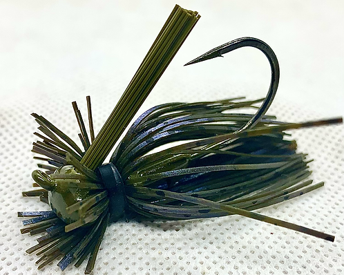 FSF 1/4oz. MICRO LION JIG. Color: Perfect Craw