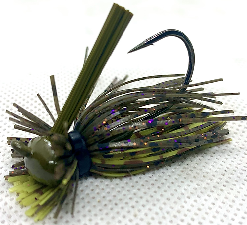 FSF 1/4oz. MICRO LION JIG. Color: Dirty30 Blonde