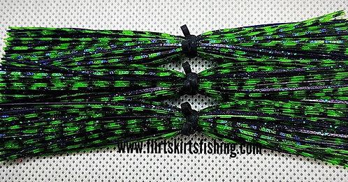 Flirt Skirts Replacement Skirts 3pk. Color: Verde Voodoo