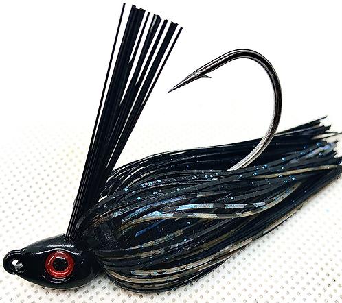FSF Swim Jig*  Color: Black N Blue 3/8oz.