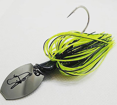 Flirt Skirts Fishing Bladed Jig*  Color: Texas Magic  3/8oz.