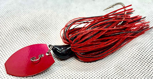 Flirt Skirts Fishing Bladed Jig*  Color: Hype-Craw 2.0 3/8oz.