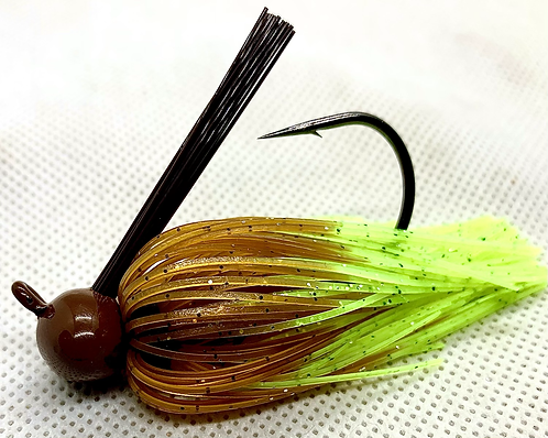 FSF Football Jig 1/2oz. Color:  Bed Bug Craw