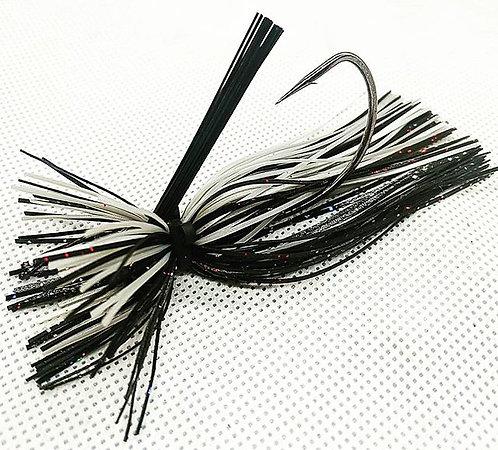 Flirt Skirts Lion FB Jig Color: SilverBack Shad 3/8oz.
