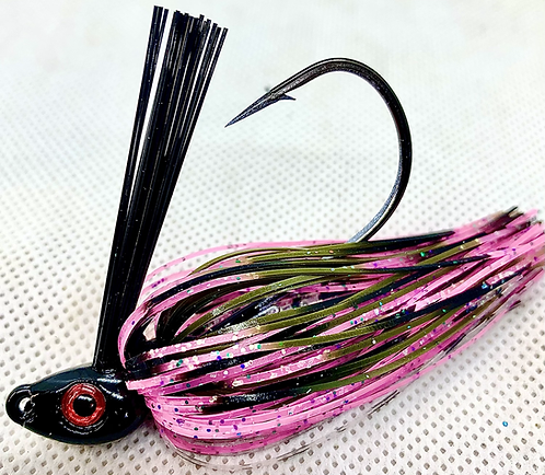FSF Swim Jig*  Color: Pretty Ugly 3/8oz.