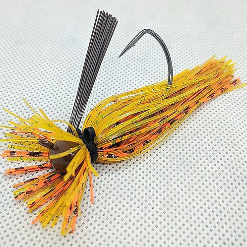 Flirt Skirts Lion FB Jig Color: Mack N Cheeze 3/8oz.