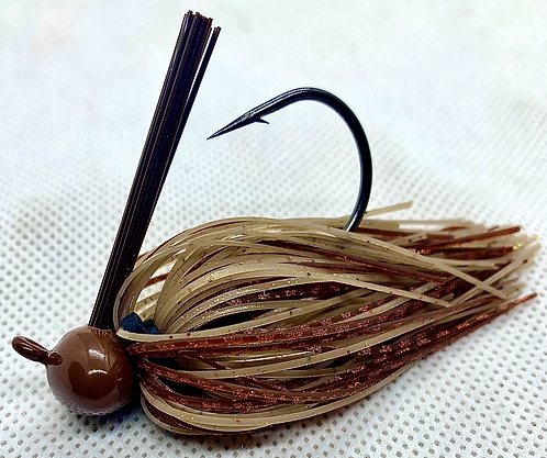 FSF Football Jig 1/2oz. Color: Baby Craw