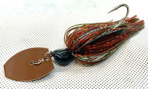 Flirt Skirts Fishing Bladed Jig*  Color: Magic Craw 3/8oz.