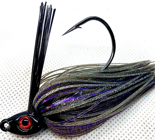 FSF Swim Jig*  Color: Smoke Purple 3/8oz.