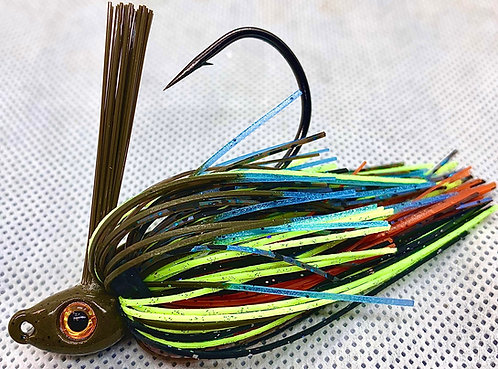 FSF Swim Jig*  Color: ZEKE KRAW 3/8oz.