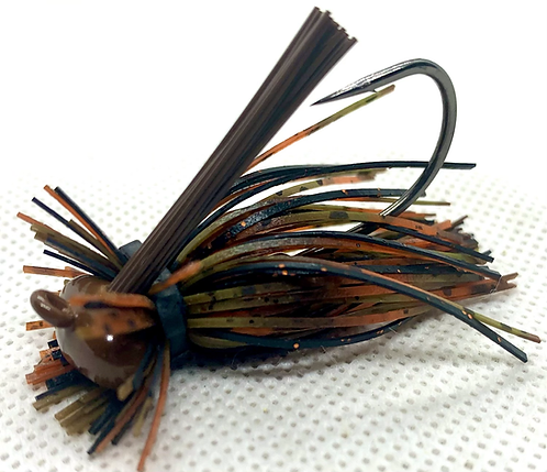 FSF 1/4oz. MICRO LION JIG. Color: Rusty Busty