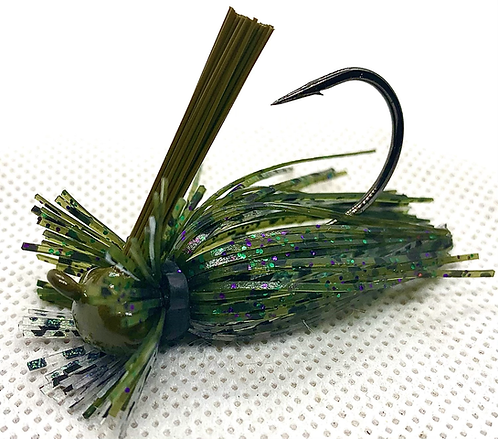 FSF 1/4oz. MICRO LION JIG. Color: Candy Shad