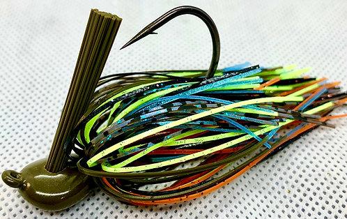 FSF Flippin Jig*  Color: Zeke Kraw 1/2oz.
