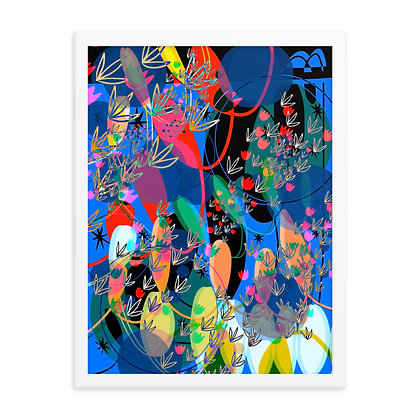 Floating in a Dream Framed poster copy