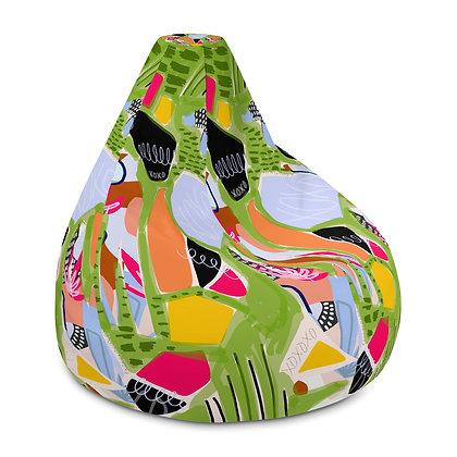 Natural Love Bean Bag Chair Cover