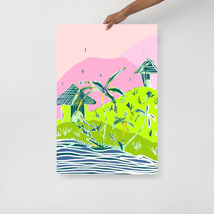 Vacation Homes Print | 24X36