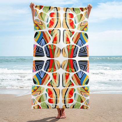 Turtle Stack Beach Towel