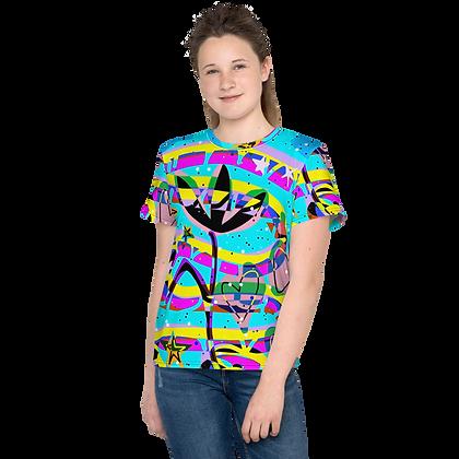 Sam's Print No. 1 Youth crew neck t-shirt