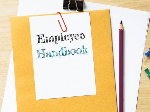 DIY HCO/PCS Employee Handbook Kit