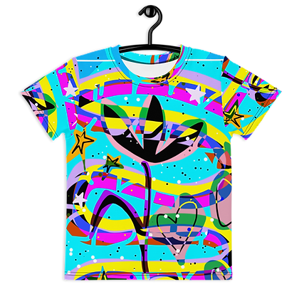 Sam's Print No. 1 Kids crew neck t-shirt