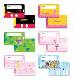 Disney_Luggage Tag