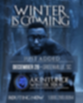 AK - WINTER IS HERE POSTER - JUST ADDED