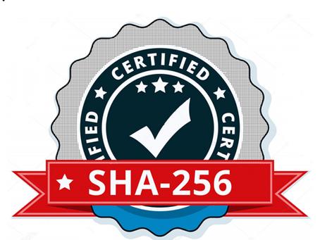 SHA256 - Genesis of ICM Algorithm