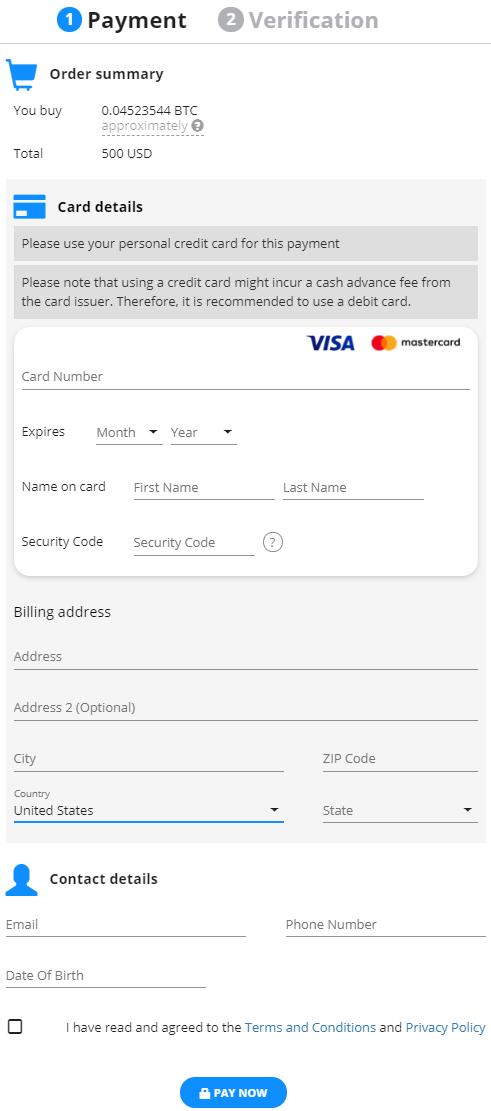 Credit Card Payment Processor