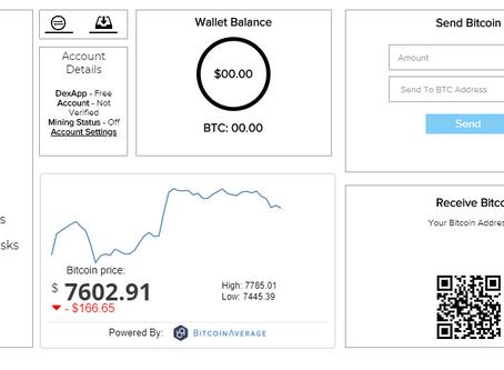 DexApp Wallet & Withdraw Update Note