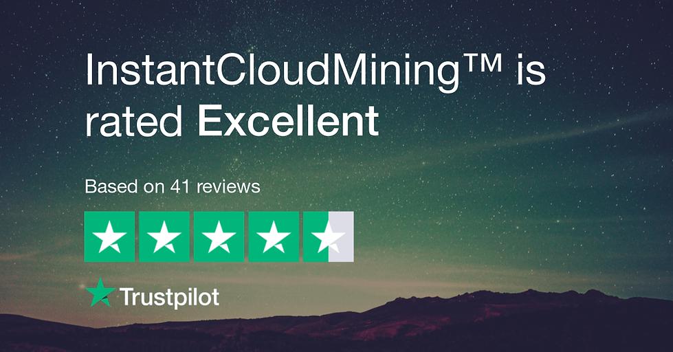 InstantCloudMining™ Trustpilot Reviews Rating