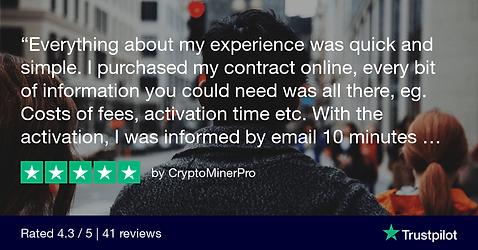 CryptoMinerPro Trustpilot Review