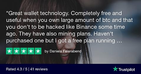 Daniela Feierabend Trustpilot Review