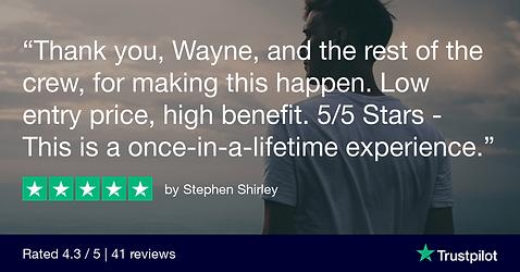 Stephen Trustpilot Review
