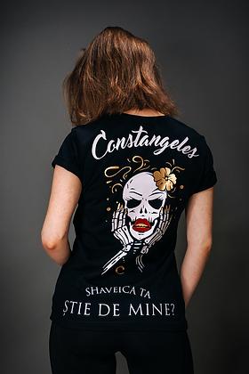 """""""SHAVEICA TA STIE ?"""" T-shirt"""