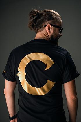 """""""C"""" GOLD T-shirt"""