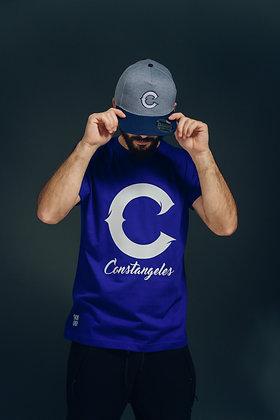 """C"" Blue T-shirt"
