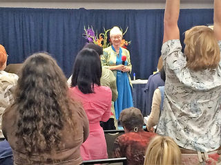 Dr Linda Standing Ovation.JPG