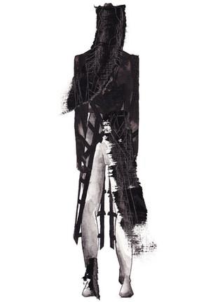 Outfit 5 - Zeichnung