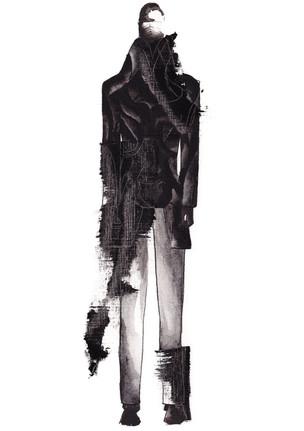 Outfit 3 - Zeichnung