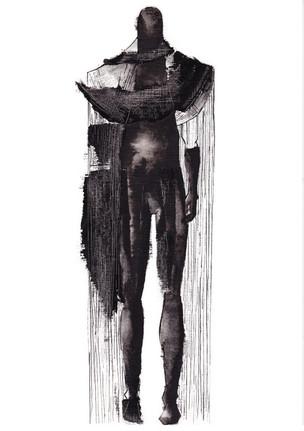 Outfit 2 - Zeichnung