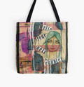 Write Your Next Chapter, Girl tote