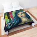 Brilliant Girl comforter