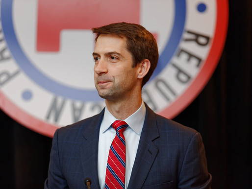 Arkansas Senator Tom Cotton Opens Mouth, Proceeds To Say Dumb Racist Shit