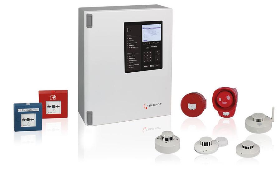Telenot-Brandmeldesystem