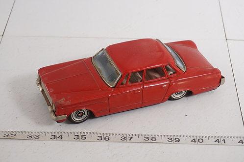 Tin Toy Friction Car - 1963 Plymouth Valiant