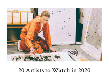 20 Artists to Watch in 2020 by Saatchi Art!